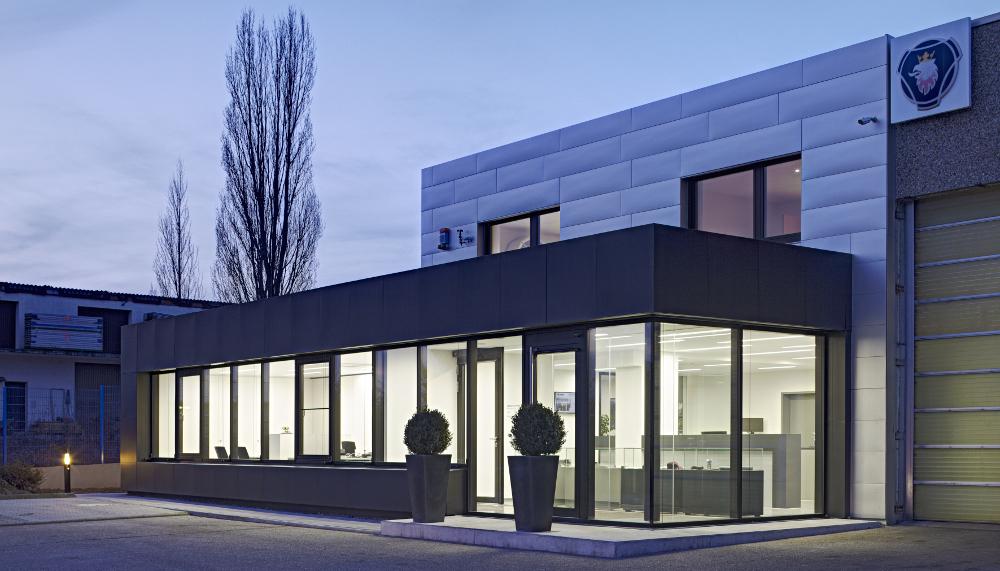 Eingangsbereich KfZ-Schneider Bad Rappenau