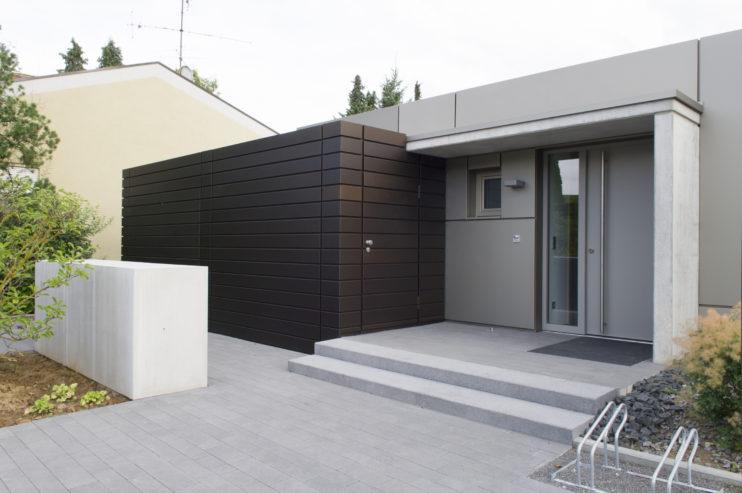Eloxalfassade Einfamilienhaus, Aluminium Eloxiert